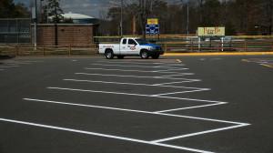 Property Maintenance: line striping