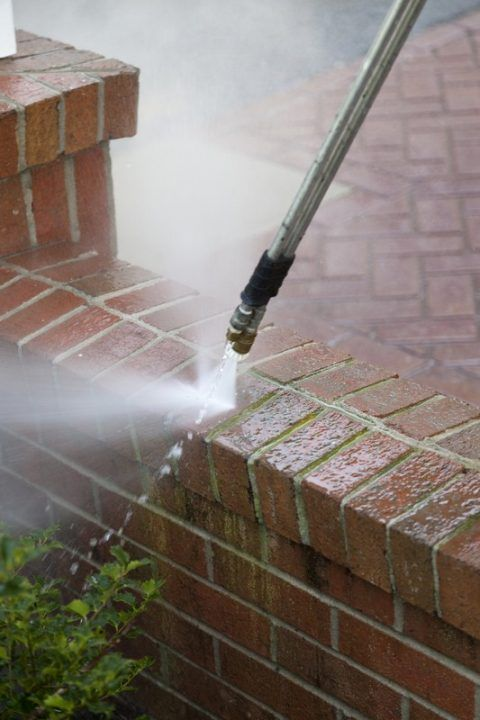 Power washing preparation - sweeping.com