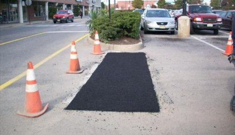 asphalt patching by C and L